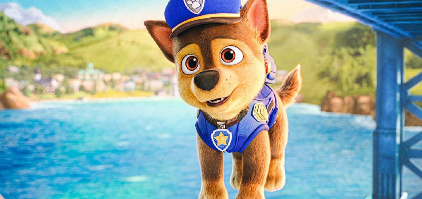 Now Showing: Paw Patrol: The Movie